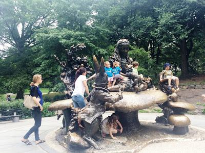 Alice In Wonderland, Central Park