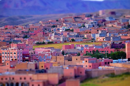 The town of Boumalne Dades, in the High... by Jamie McCaffrey, on Flickr
