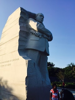 Martin Luther King Memorial, Washington DC