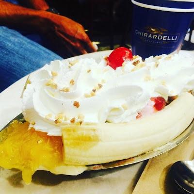 Ghirardelli Ice Cream, SFO