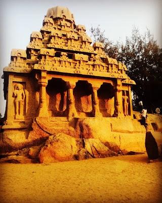 Panch Rathas Mahabalipuram
