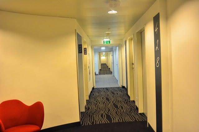 Hallway Hotel Zeitgeist Vienna