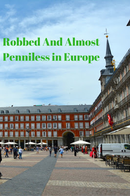 Robbed and Almost Penniless in Europe: Travel, Books and Food