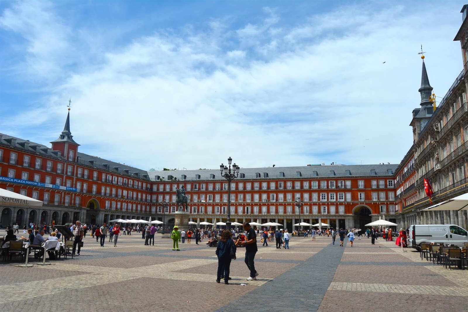Robbed in Europe: Travel, Books and Food, Plaza Mayor, Madrid, Spain