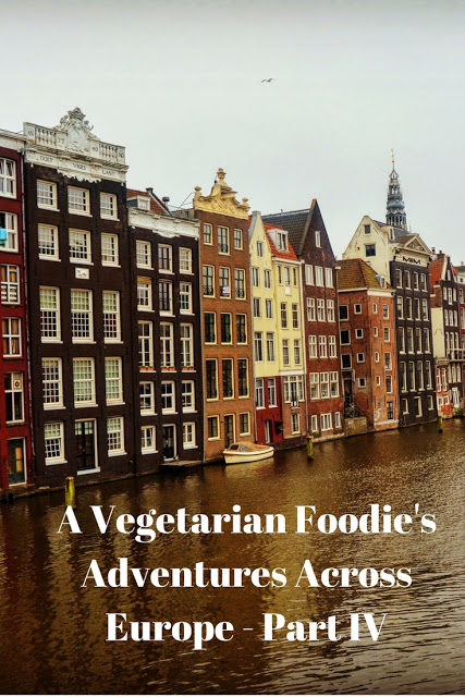 Vegetarian Food in Amsterdam and Luxembourg