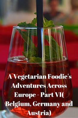 Vegetarian Food in Belgium, Austria and Germany