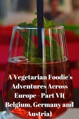 Vegetarian Food in Belgium, Austria and Germany