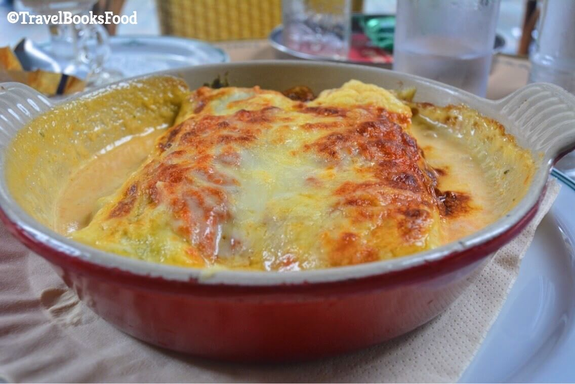A delicious Lasagne in Brussels